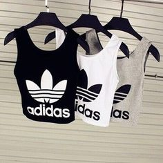 Adidas Women Shoes - Tank top: adidas sports top adidas wings adidas sports bra crop tops blouse adidas crop top top - We reveal the news in sneakers for spring summer 2017 Mode Outfits, Sport Outfits, Casual Outfits, Summer Outfits, Fresh Outfits, Dress Summer, Casual Wear, Winter Outfits, Adidas Shoes Outfit