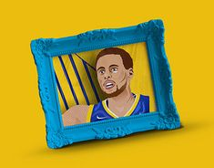 """Check out new work on my @Behance portfolio: """"Stephen Curry NBA Illustration"""" http://be.net/gallery/60917759/Stephen-Curry-NBA-Illustration"""