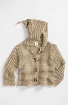 Stem Baby 'Lofty' Hooded Cardigan