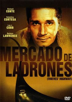 Mercado de ladrones (1949) EEUU. Dir: Jules Dassin. Thriller. Cine negro. Drama. Cine social - DVD CINE 1257