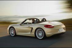 The new 2012 Porsche Boxter