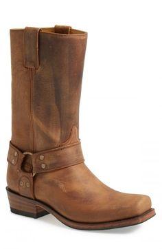 Sendra Boots Tall Harness Boots Men Tan 9 5 D | Footwear