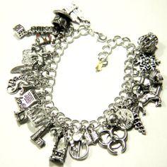 Kate Daniels Series Charm Bracelet