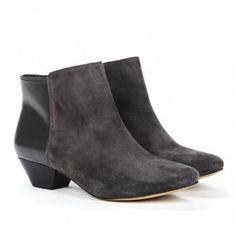 Loving these suede booties