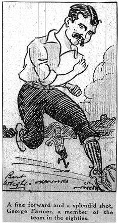 George Farmer, holds the record of scoring 8 goals in one match Liverpool History, Everton Fc, Farmer, Graphic Art, Football, Goals, Collection, Soccer, Futbol