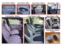 Fast DIY Fix For Faded Stained Car and RV Interiors