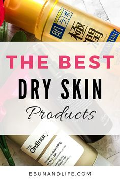 Do you suffer from regular or occassional bouts of #dryskin and struggling to find good products? Here are the best products for dry skin. #beautyhacks #skincareproductsthatwork #skincareover50 #skincareremedies Skincare For Oily Skin, Drugstore Skincare, Oily Skin Care, Dry Skin, Skincare Routine, Be Natural, Natural Skin Care