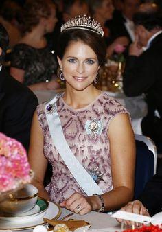 12-10-14....Queens & Princesses: ceremony nobels prices, Stockholm... Princess Madeleine of Sweden