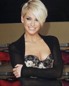 short blonde hair... would have to be really brave.