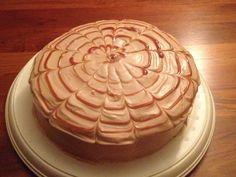 Caramel Apple Layer Cake W/ Cream Cheese Frosting Recipe — Dishmaps