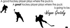a great hockey player