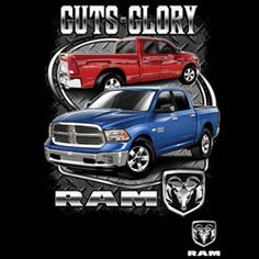 Certified Guts and Glory Ram Trucks with crest!  To order, click on link provided.