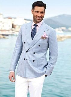 Look Certo: Terno Para Verão Com Camisa Xadrez | Summer, Suits and ...