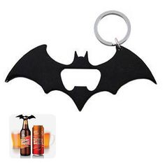Always be prepared by carrying this Batman Logo Multi-Tool with you at all times. It's like having your own utility belt on your waist.  The Batman Logo Multi-Tool can help you open bottles and cans, but it also does so much more. On both wing ends, there is a phillips and a flathead scre