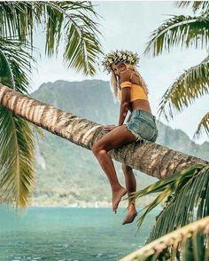 "Sommerliche Foto Idee Strand Meer Wasser Bikini Kreatives Porträt Fotografie Pa… Summer Photo Idea Beach Sea Water Bikini Creative Portrait Photography Palm Tree Travel In Her Shoes: ""No Success Overnight"""