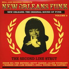 This is Soul Jazz Records' new journey into the heart of New Orleans and a guide to the city's finest Funk music produced in the late 1960s and early…