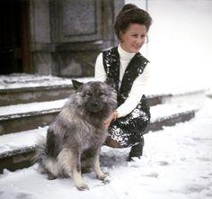 Queen Sonja of Norway. 1970