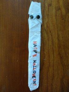 Thursday, October 23, 2014. Mummy Bookmarks!