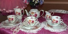 Once Upon A Dream Tea Parties