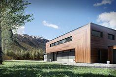 3D Visualization - Villa OHM - Contemporary architecture