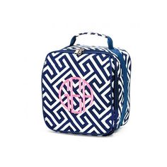monogrammed lunch bag, insulated lunch bag, personalized lunch bag ($19) ❤ liked on Polyvore featuring home, kitchen & dining, food storage containers, bags, personalized lunch bags, monogrammed lunch box, personalized lunch box and monogrammed lunch bag