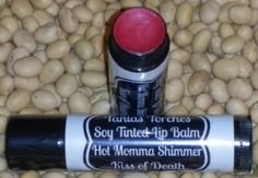 Tinted Lip Balm chapstick in Kiss Of Death fruit by TaniasTorches Tinted Lip Balm, Lip Tint, Kiss Of Death, The Balm, Fruit