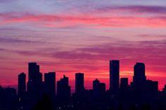 Denver skyline -love my city!
