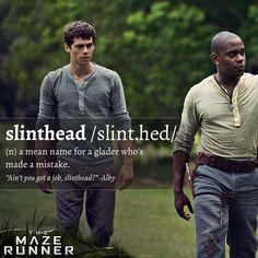 Shape up, greenie. Don't be a slinthead.