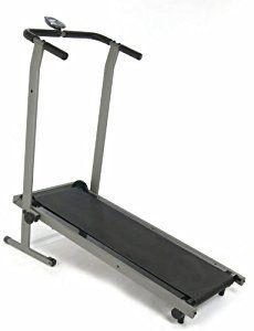 Stamina InMotion Manual Treadmill (Pewter Grey, Black)