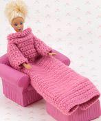 Barbie Snuggie To Crochet (LOL)