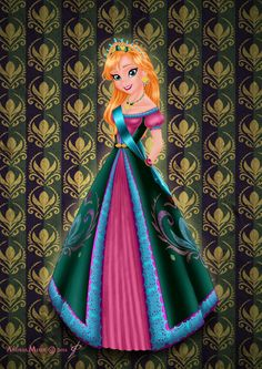 Royal Jewels Dress Edition: ANNA by MissMikopete on deviantART