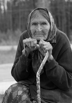 wisdom?, via Flickr. Old lady, wrinckles, aged, cracks in time, beauty, lines of Life, portrait, photo b/w