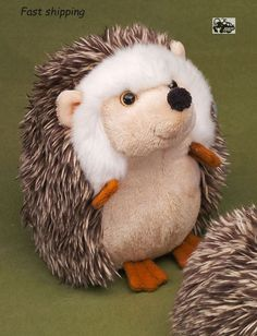 Details about  Cute Plush Stuffed Animal Hedgehog 14cm Toy Gift Kids Family Doll Cuddle #ebay