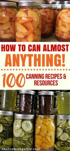 Do you have a bountiful garden? Check out these home canning recipes and resources so that you know exactly how to preserve all that harvest! Food Preservation Home Canning Pressure Canning Water Bath Canning How to Can at Home Home Canning Recipes, Canning Tips, Cooking Recipes, Pressure Canning Recipes, Garden Canning Ideas, Easy Canning, Canning Labels, Oven Canning, Blender Recipes