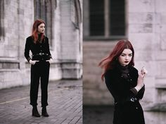 Get this look: http://lb.nu/look/7971306  More looks by Hannah Louise: http://lb.nu/hannahlouisef  Items in this look:  The White Pepper Jumpsuit, Asos Brown Faux Suede Boots   #casual #gothic #punk
