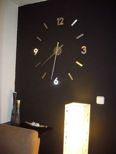 M s de 1000 ideas sobre reloj pared adhesivo en pinterest for Relojes decorativos para salon