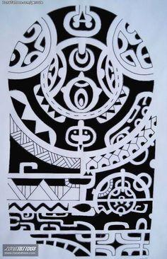 tatuaje maori #maori #tattoo #tattoos #samoantattooschest #marquesantattooschest