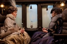 Olivia Williams and Keira Knightley in Anna Karenina