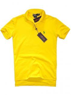 Ralph Lauren polo jaskrawo żółta