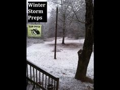 ▶ Winter Storm Preps: Be Prepared  - Sensible Prepper