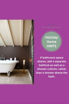 Maximise your holiday home's bathroom space
