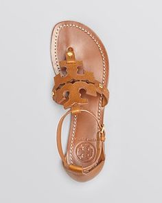 Tory Burch Flat Thong Sandals - Phoebe | Bloomingdale's