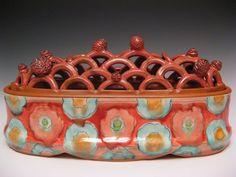 Flower brick by Joan Bruneau  NSCAD - Nova Scotia College of Art & Design