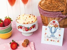Lucie Heaton Summer chartbook papers | Cross Stitching