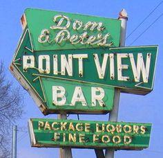 Don  Petes Point View Bar, US 20, Gary Indiana