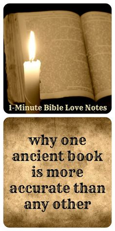 The proof for the authenticity of the Bible is overwhelming.