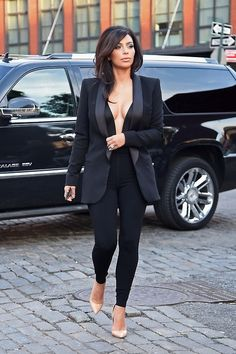 Kim out in New York on Monday - June 16, 2014