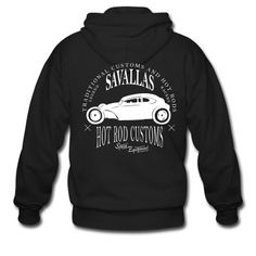 Hot Rod Custom Kapuzenjacke | Savallas