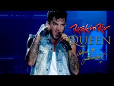 Queen + Adam Lambert - Ghost Town, Rock in Rio (2015) HD.  Holy **** This rocked out version KILLS!!