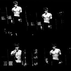 Baekhyun and those sexy AF abs! Baekhyun Hot, Exo Chanyeol, Baekyeol, Chanbaek, 2ne1, Laura Lee, Btob, 5 Years With Exo, Exo Members